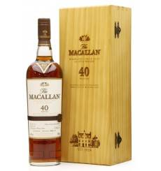 Macallan 40 Years Old - 2016 Release