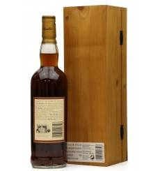 Macallan 18 Years Old  1981 - Gran Reserva *Signed Bottle*