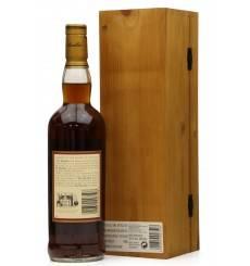 Macallan 18 Years Old  1981 - Gran Reserva *Signed Bottle*
