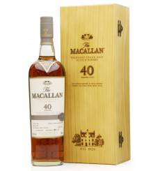 Macallan 40 Years Old - 2017 Release