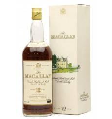 Macallan 12 Years Old - Sherry Oak (1 Litre)