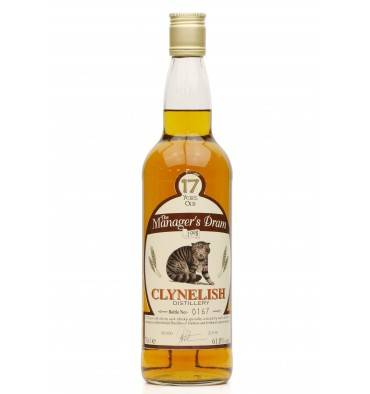 Clynelish 17 Years Old - The Manager's Dram 1998