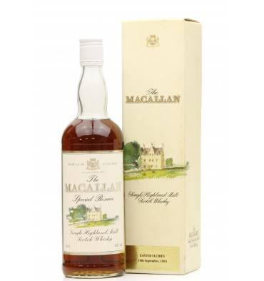 Macallan 1985 Special Reserve - Easter Elchies