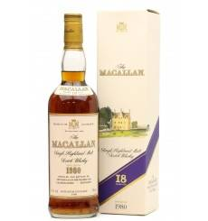 Macallan 18 Years Old 1980 (75cl)