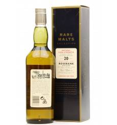 Rosebank 20 Years Old 1979 - Rare Malts
