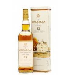 Macallan 12 Year Old - Sherry Oak In Tin
