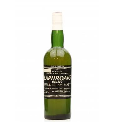 Laphroaig 12 Years Old - Cadenhead's 80° Proof  1960's