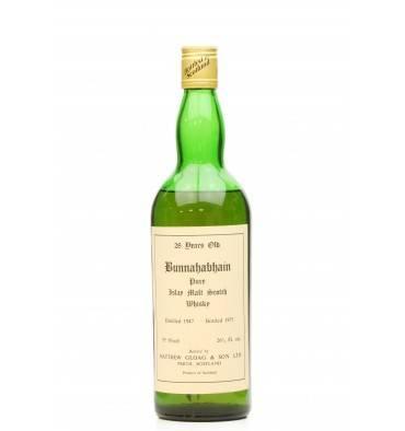 Bunnahabhain 28 Years Old 1947 - Matthew Gloag & Son Ltd