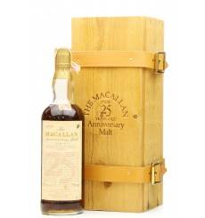 Macallan Over 25 Years Old - Anniversary Malt Berman Imports (86° Proof)
