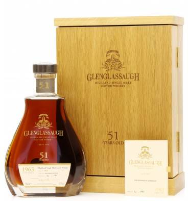 Glenglassaugh 51 Years Old 1963 - Single Cask No.3301 (No.4 of 191)