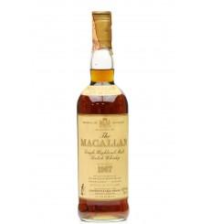 Macallan 18 Years Old 1967 - Giovinetti & Figli (75cl)