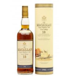 Macallan 18 Years Old 1984