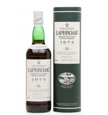 Laphroaig 31 Years Old 1974 - Sherry Wood