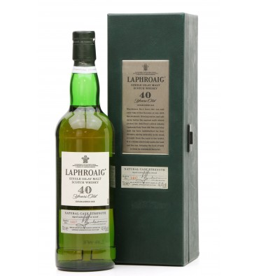 Laphroaig 40 Years Old - Natural Cask Strength