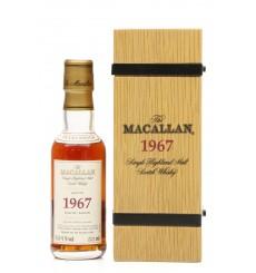 Macallan 35 Years Old 1967 - Fine & Rare Miniature (5cl)