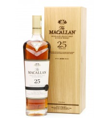 Macallan 25 Years Old Sherry Oak - 2018 Release
