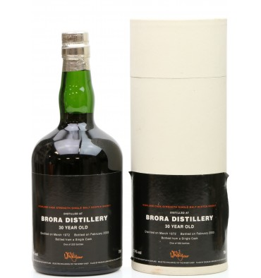 Brora 30 Years Old 1972 - The Whisky Shop