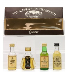 Glenlivet Distillers Quartet Miniature Set