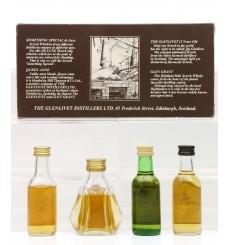 Glenlivet Distillers Quartet Miniature Set