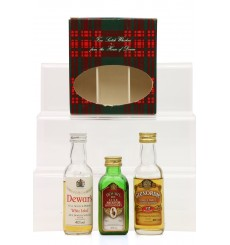 House Of Dewar Miniature Set (3x 5cl)