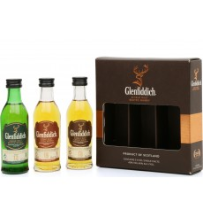 Glenfiddich Miniature Set (3x5cl)
