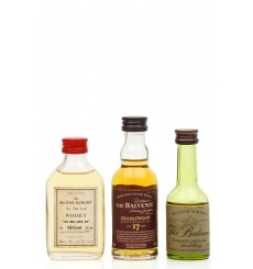 Balvenie Miniatures X3 Incl. As We Get It 108.6° Proof (3x5cl)