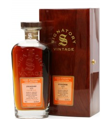 Springbank 37 Years Old 1970 - Signatory Vintage Cask Strength Collection