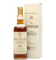 Macallan 18 Years Old 1966 - Giovinetti & Figli (75cl)
