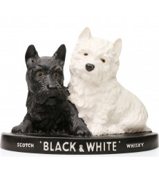 Black & White Decorative Stand