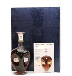 Macallan - Glenlivet 1962 Crystal Decanter - Silver Seal (1 of 1)