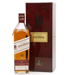 Johnnie Walker The Commemorative - Epic Dates 1920 Edition Batch XII