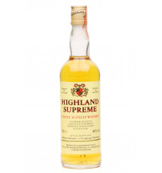 Highland Supreme Finest Scotch