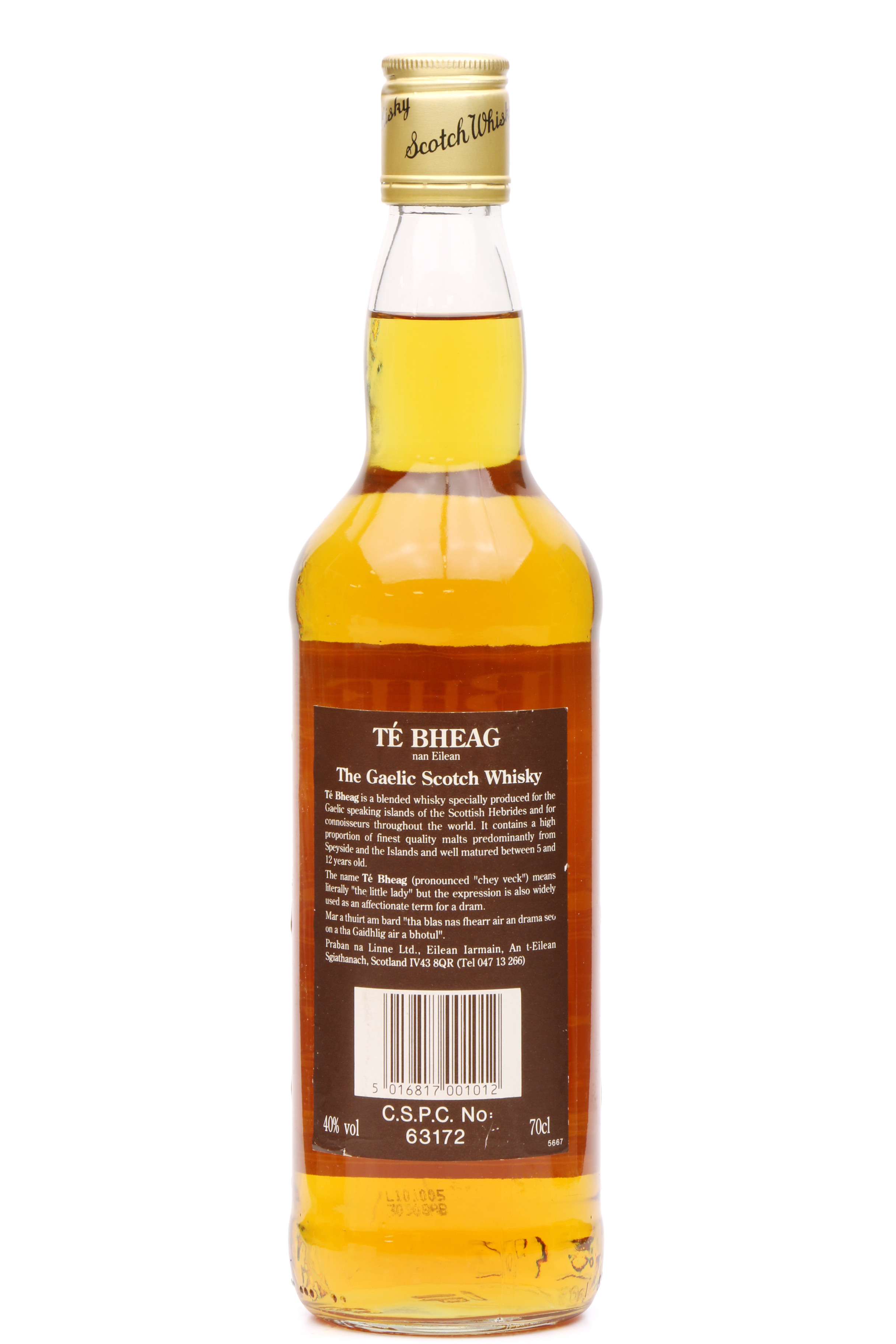 Uisge Beatha 8 Year Old, Pure Malt Whisky | The Whisky Vault
