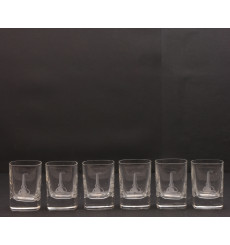 Miniature Glass Set x6