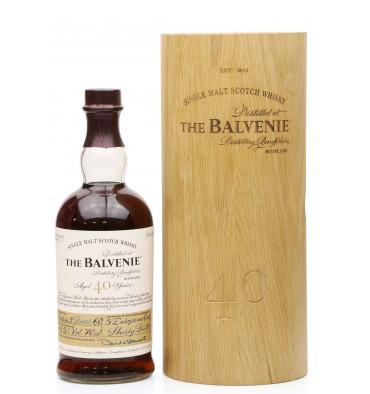 Balvenie 40 Years Old - Batch 3