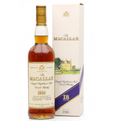 Macallan 18 Years Old 1980
