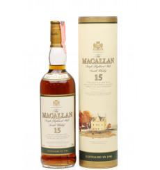 Macallan 15 Years Old 1985