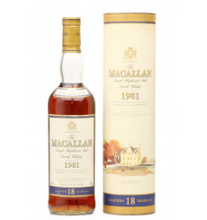 Macallan 18 Years Old 1981