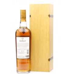 Macallan Edition No.1 - Wooden Presentation Box