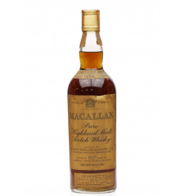 Macallan 1954 - 80° Proof - Campbell Hope & King