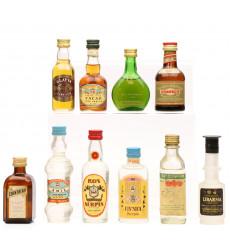 Assorted Miniatures x10