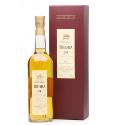 Brora 34 Years Old - 2017 Limited Edition