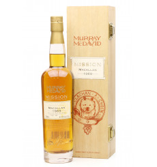 Macallan 36 Years Old 1969 - Murray McDavid Mission Cask Strength **Signed**
