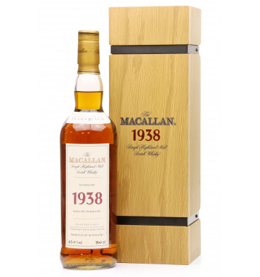 Macallan 31 Years Old 1938 - Fine & Rare