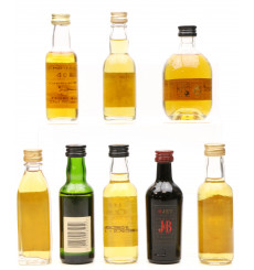Assorted Miniatures X8 Incl Glenrothes Select Reserve