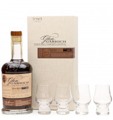 Glen Garioch 1985 - 2018 Hand Filled Single Cask & Glasses