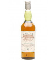 Caol Ila 20 Years Old - 150th Anniversary