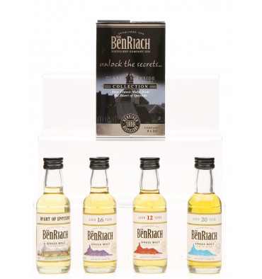 Benriach Classic Speyside Miniature Collection (4x5cl)