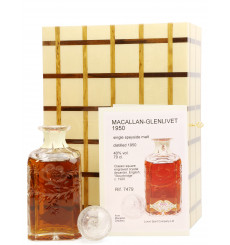 Macallan 1950 Engraved Crystal Decanter - Luxury Spirit Company (1 of 1)