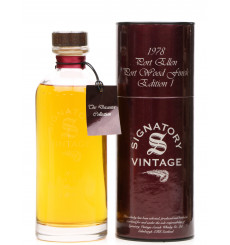 Port Ellen 1978 - Signatory Vintage Port wood Finish Edition 1